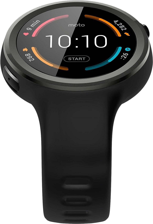 motorola Moto 360 Sport - Relojes Inteligentes: Amazon.es: Electrónica