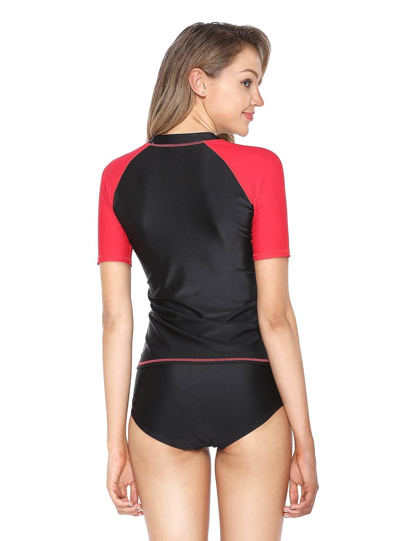 Eono Essentials Damen UV-Schwimmshirt UV-Schutz 50+