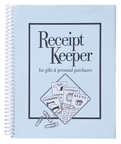amazon com receipt keeper office products