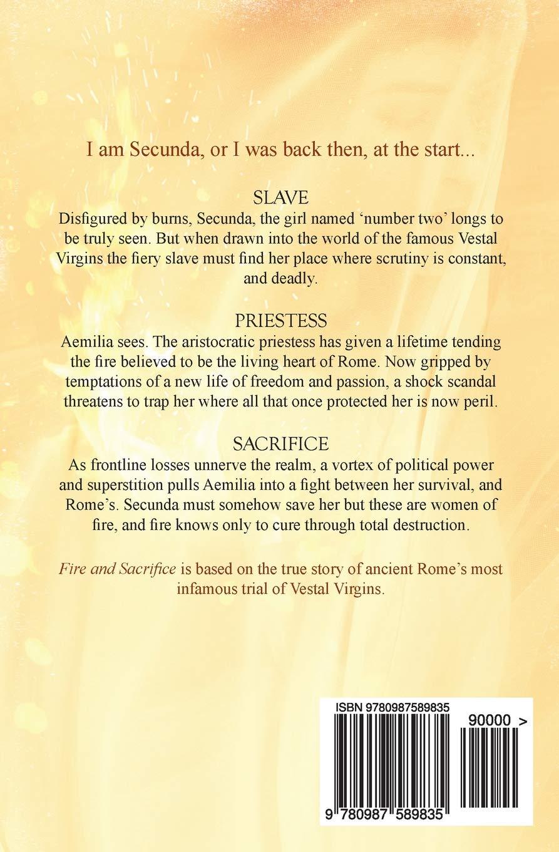 Fire and Sacrifice: Ms Victoria Collins: 9780987589835