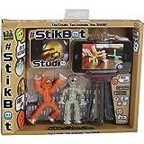 Modelco Stikbot - 32880.012 - Loisirs créatifs - Studio d'Animation - 2 Figurines et 1 Trépied pour Smartphone