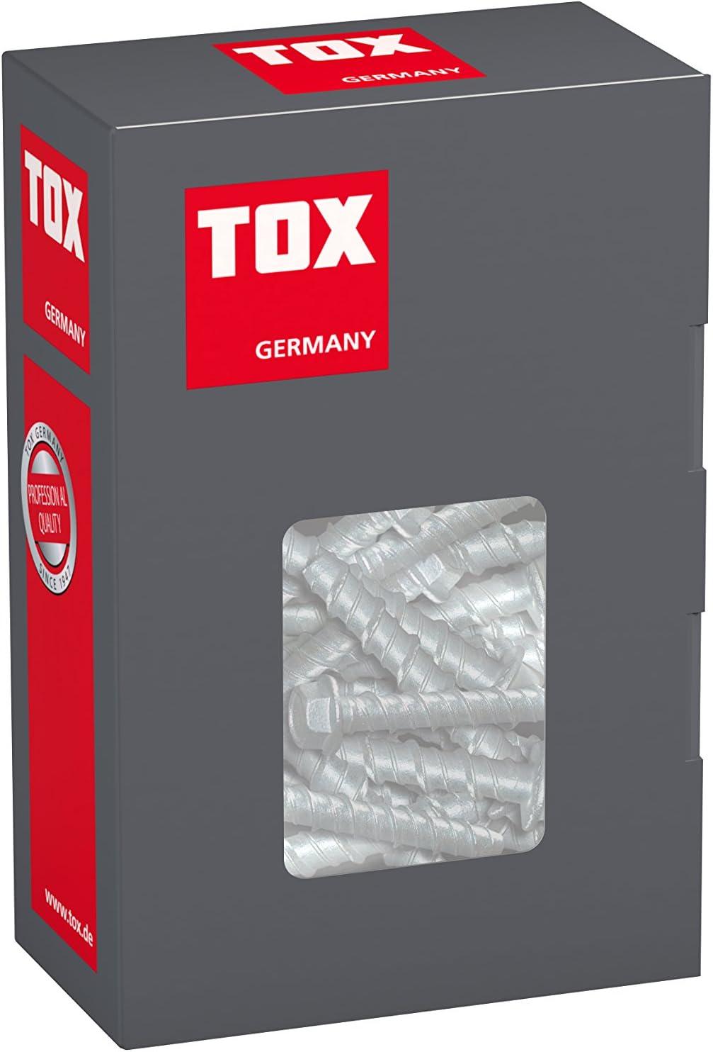 50 St/ück 8x75 mm TOX Betonschraube Sumo Pro 1 041101021