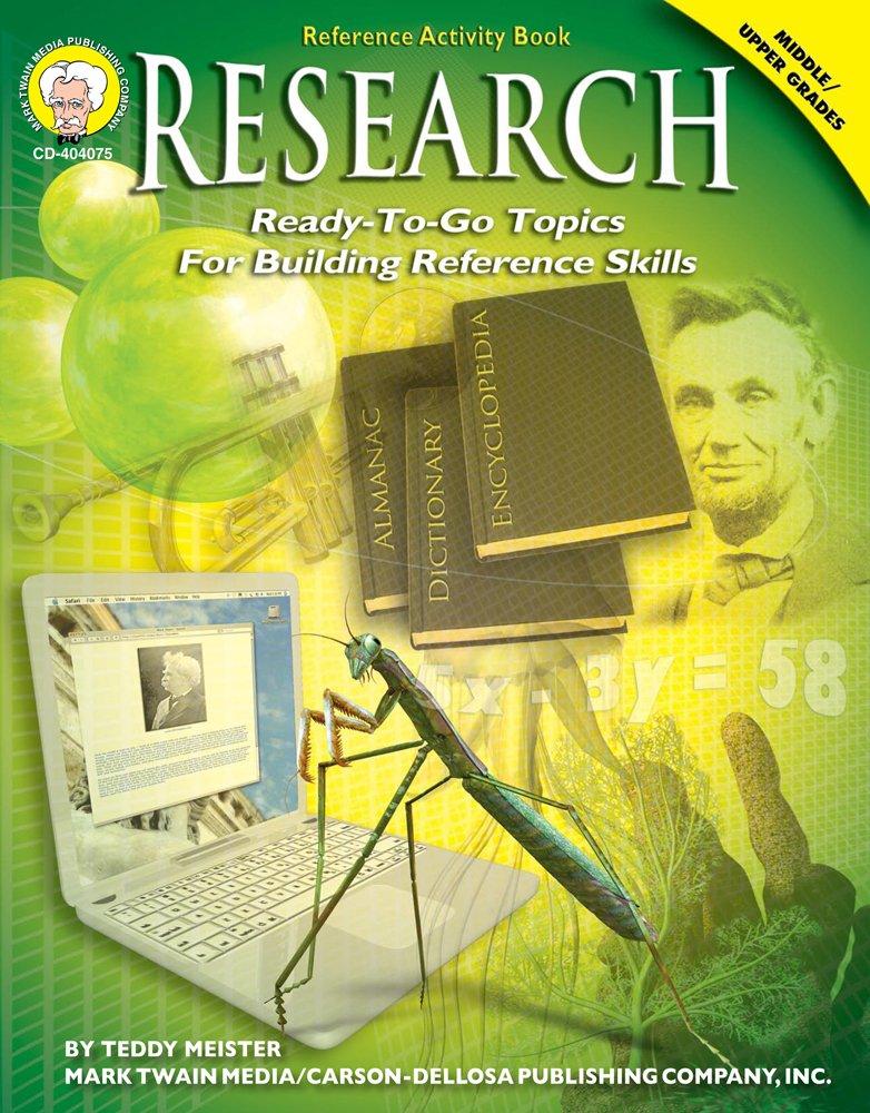 Download Research, Grades 6 - 12 pdf