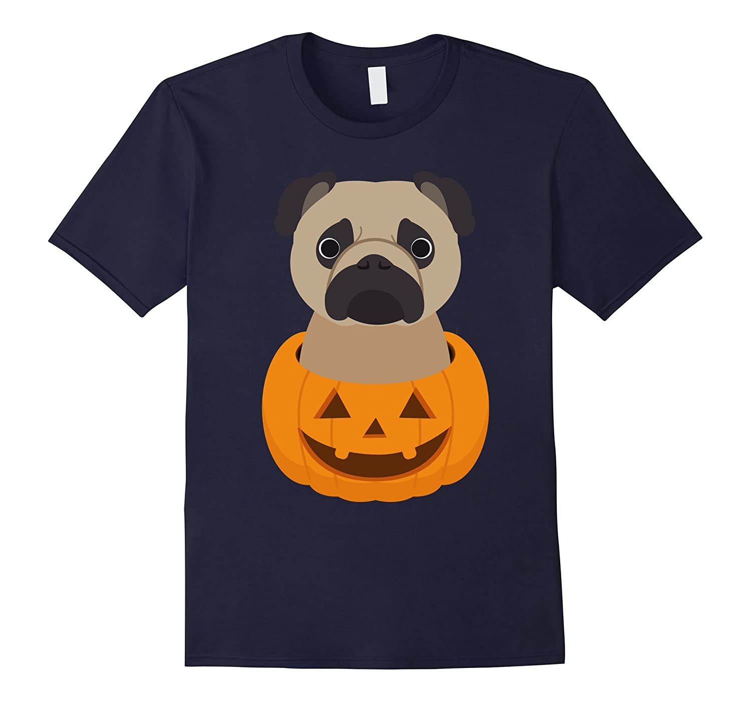 Halloween costume gifts Pug dog lover t shirt-FL