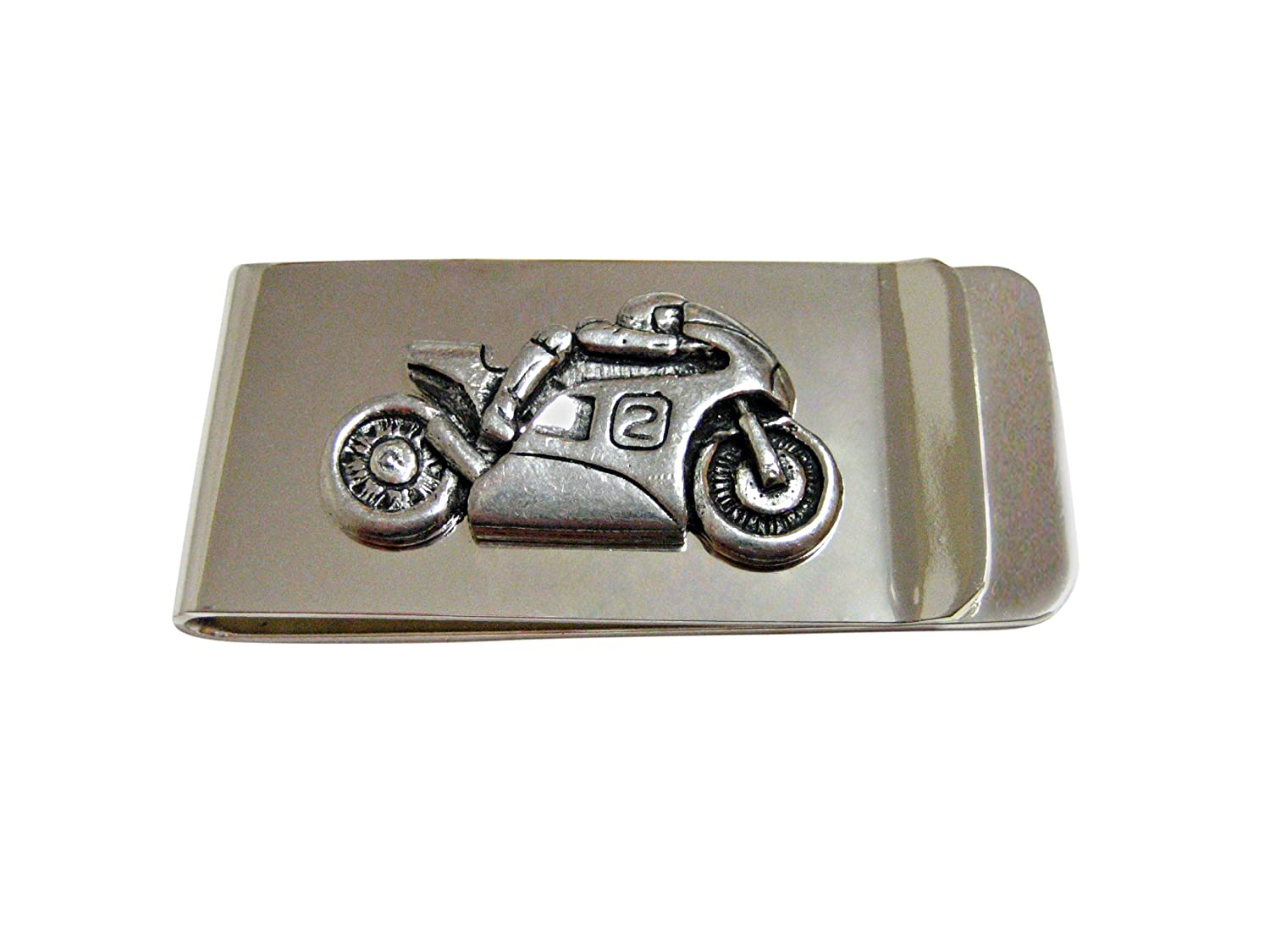 Racing Motorcycle Money Clip