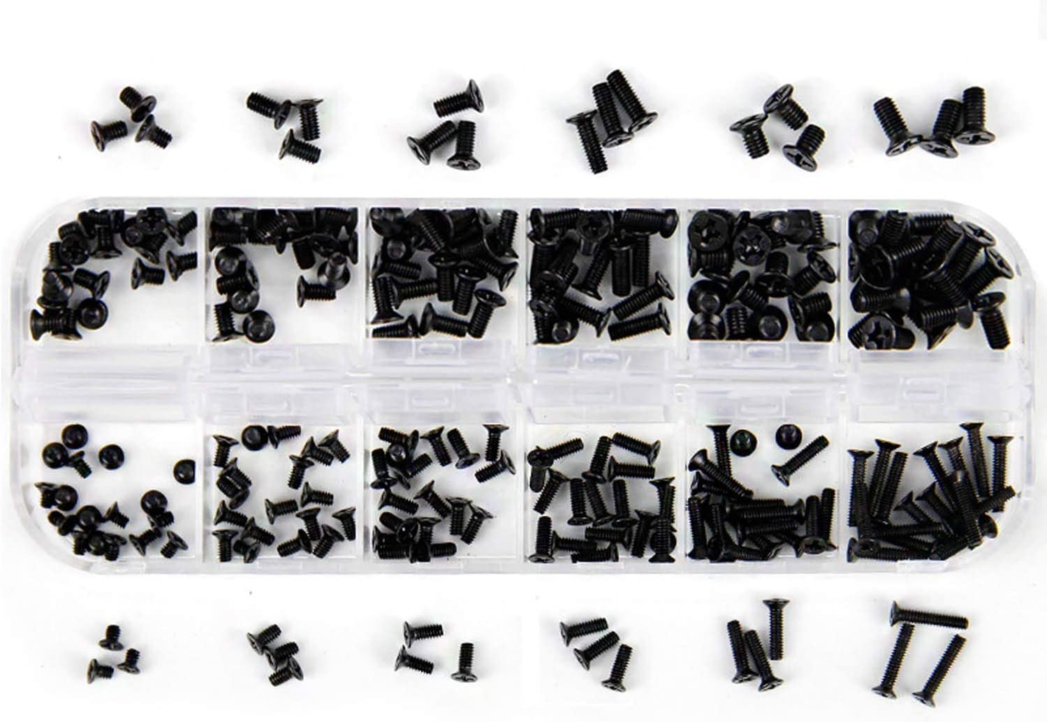 Laptop Notebook Computer Screw Kit Hotetey 240 Pieces M2 / M2.5 / M3 Screws Set for IBM HP Dell Lenovo Samsung Sony Toshiba Gateway Acer