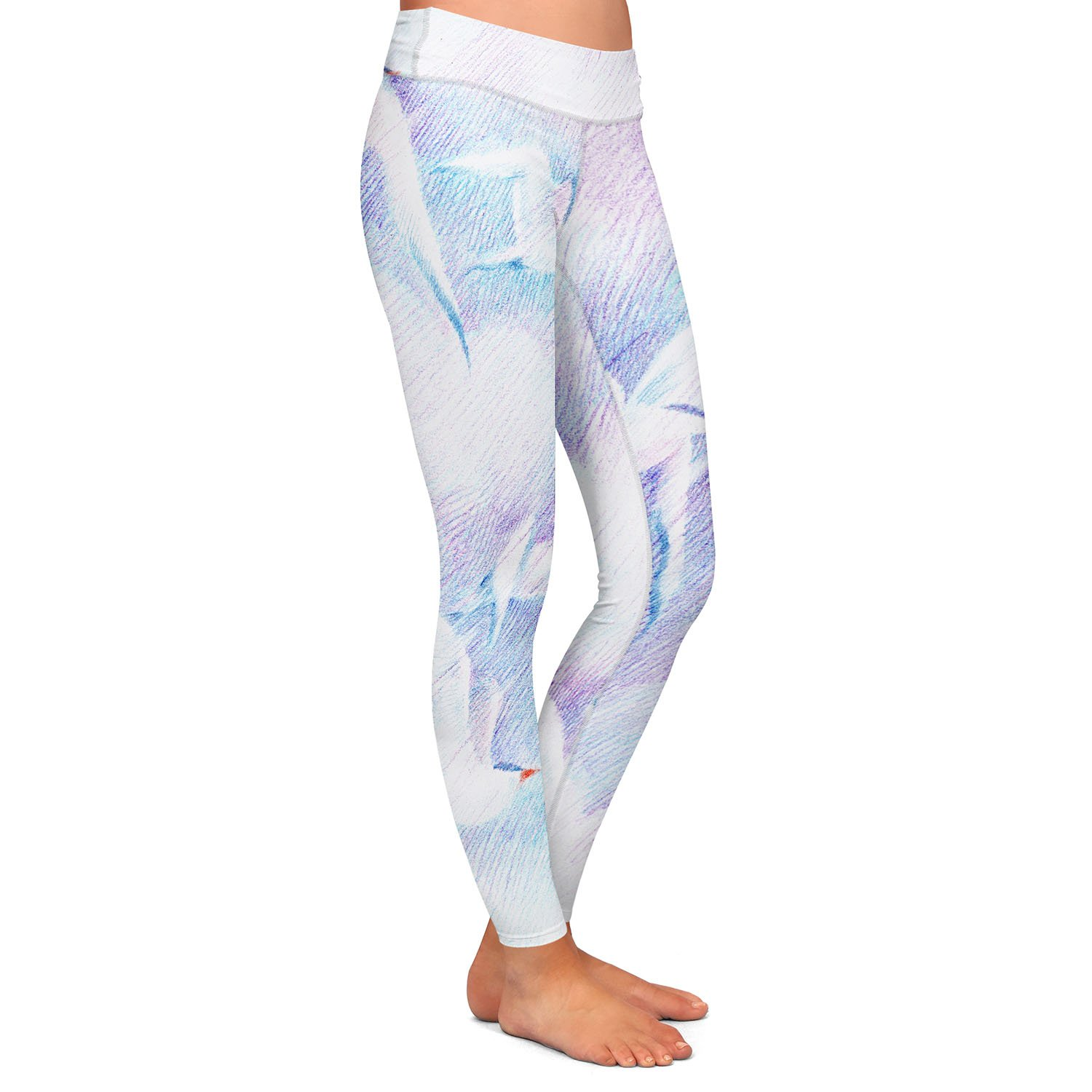 Athletic Yoga Leggings from DiaNoche Designs by Gerry Segismundo Swift