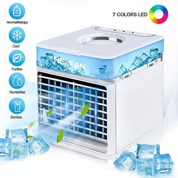 Tanbaby Enfriador de aire acondicionado portátil 4 en 1 ...