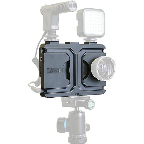 Melamount MM-IPHONE7PLUS Video Stabilizer Pro Multimedia Rig for Apple  iPhone 7 Plus & 8 Plus