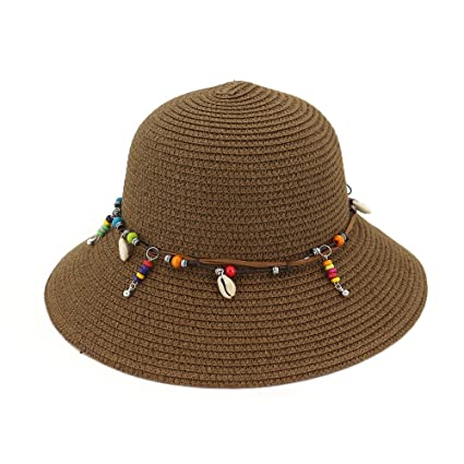 e26be1601c6 Amazon.com  Ruiyue Summer Straw Hats
