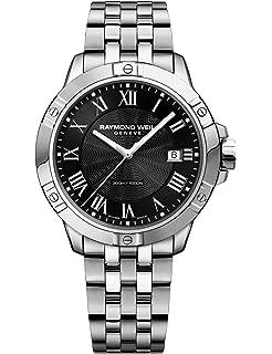 Raymond Weil Mens 8160-ST-00208 Tango Analog Display Quartz Silver Watch