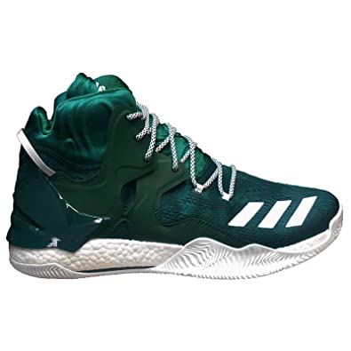 9569bfa5 Amazon.com | adidas Men's Sm D Rose 7 NBA Basketball Shoes, Green ...