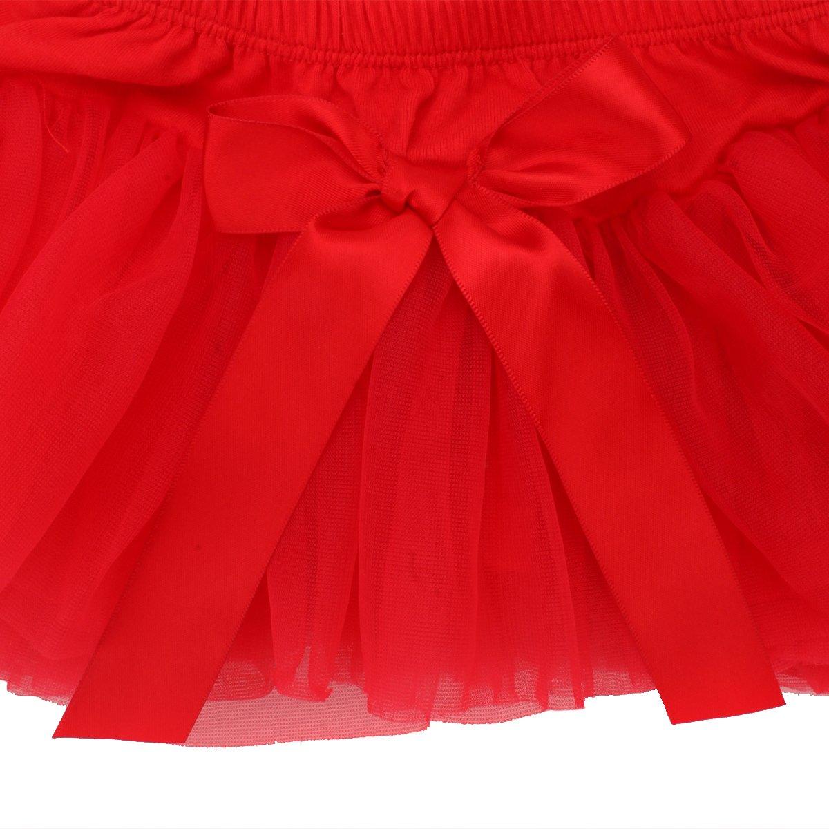 belababy Baby Girls 0-24 Monate Tutu Rock con Shorts Suaves para reci/én Nacidos