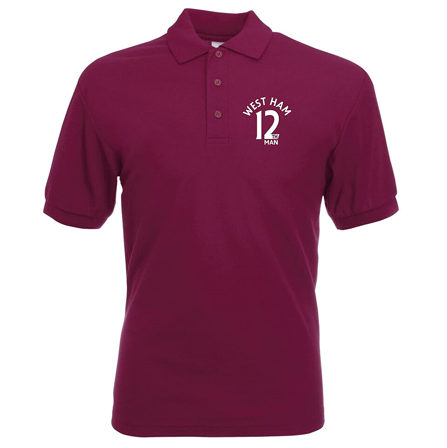 12th Uomo West Ham Fan Polo da uomo
