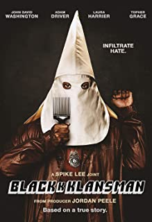 Book Cover: BlacKkKlansman