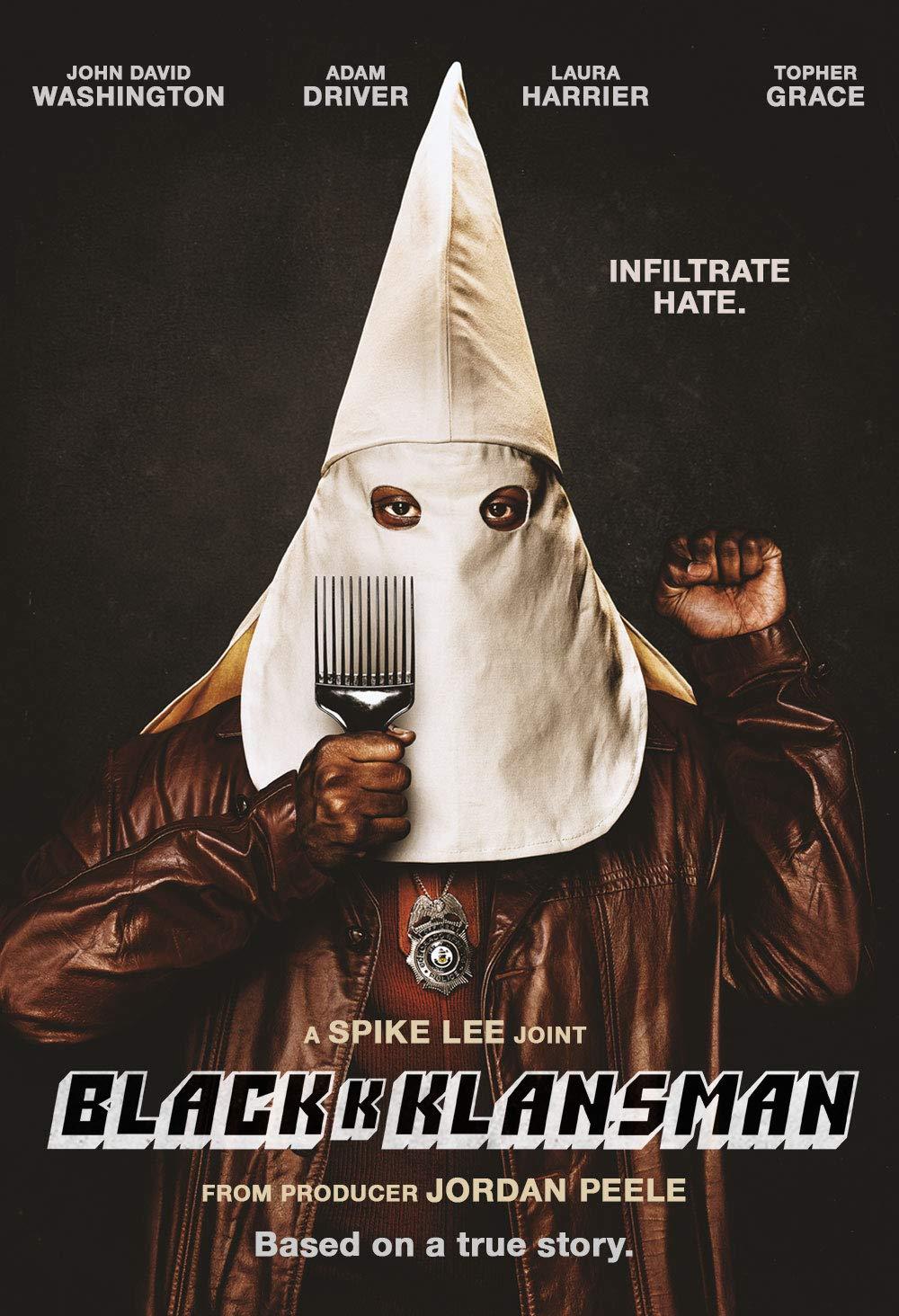 Book Cover: BlacKkKlansman