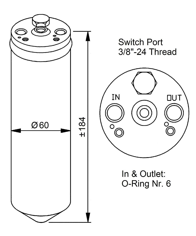 NRF 33028 Trockner Klimaanlage