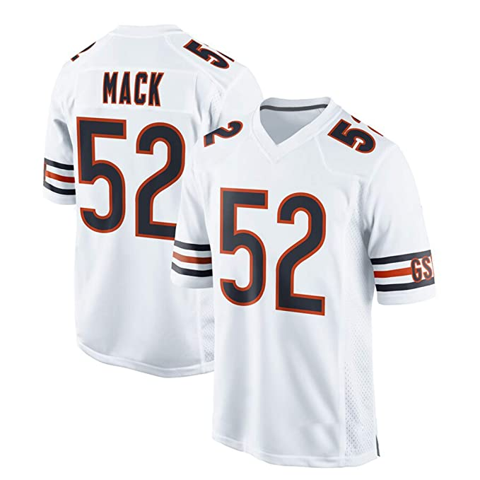 online store 6f916 91129 Amazon.com: VF LSG Men's Chicago Bears Khalil Mack #52 White ...