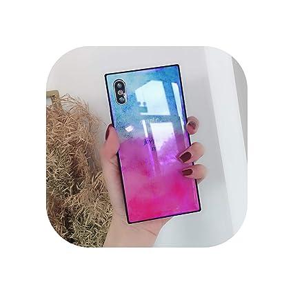 Amazon.com: U-see - Carcasa de cristal templado para iPhone ...
