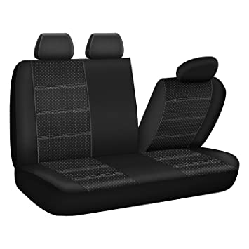 PIC AUTO Textured Bench Car Seat Covers