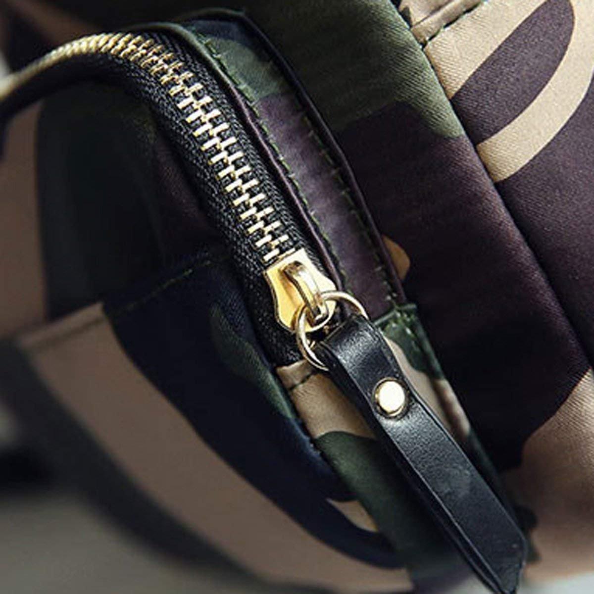 Hale Tomlinson Ladies Fashion Camouflage Zipper Soft All-match Travel Backpack Handbag
