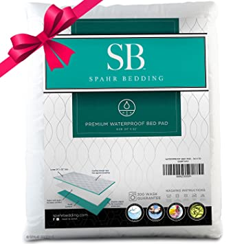 Waterproof Bed Pad   Incontinence / Bed Wetting Pad   Protector For  Mattress And Sheets