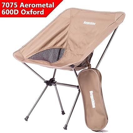 db92c5bf9f Amazon.com : Heypshine Camping Chairs, Folding Portable Compact ...
