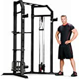 Marcy Olympic Strength Cage with Adjustable Bar SM-3551