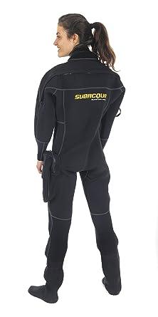 Subacqua Black Dry Sport Traje Seco, Unisex Adulto