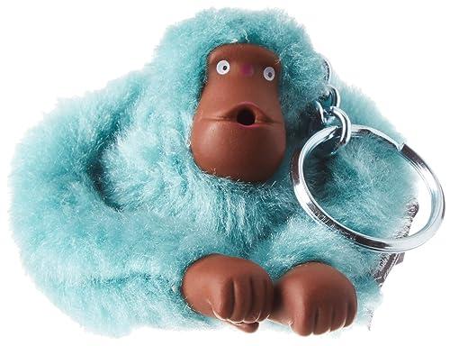 Kipling - Monkeyclip S, Llaveros Mujer, Azul (Aqua Frost ...