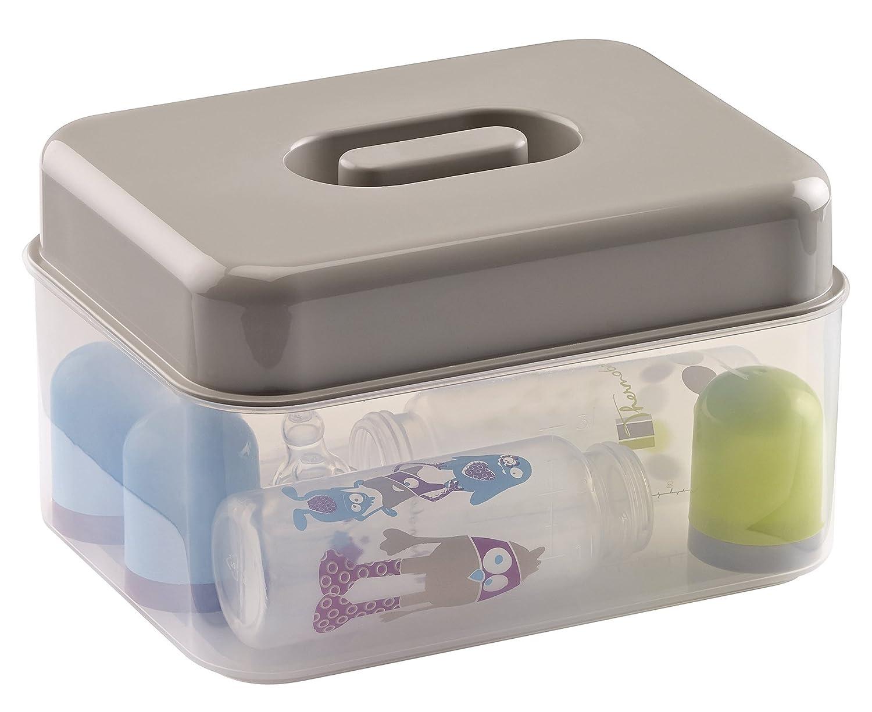 THERMOBABY Stérilisateur Micro Ondes Gris 2190995