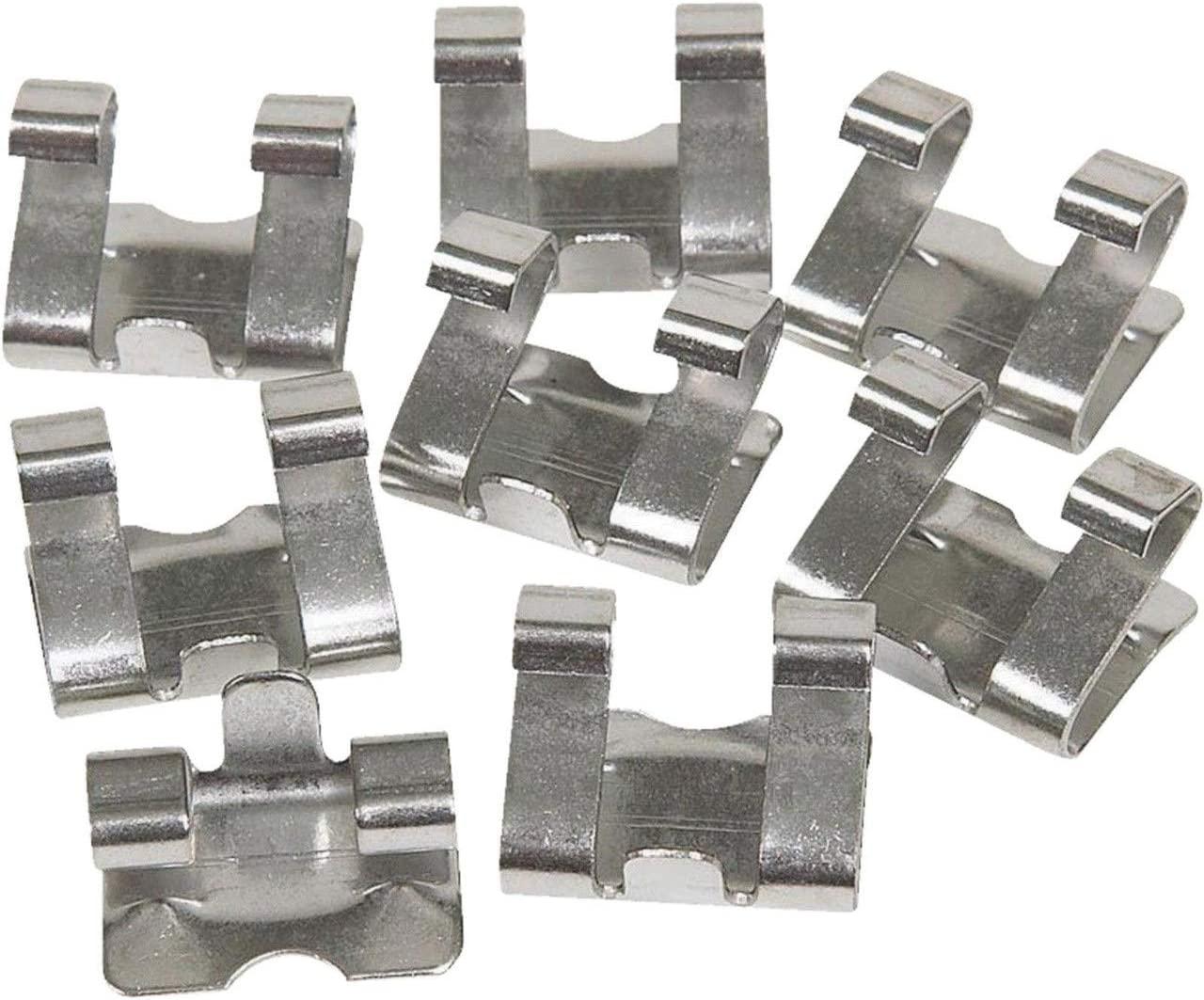 Galvanized Quantity 50 Amerimax Home Products SPCLGL Gutter Spring Clip