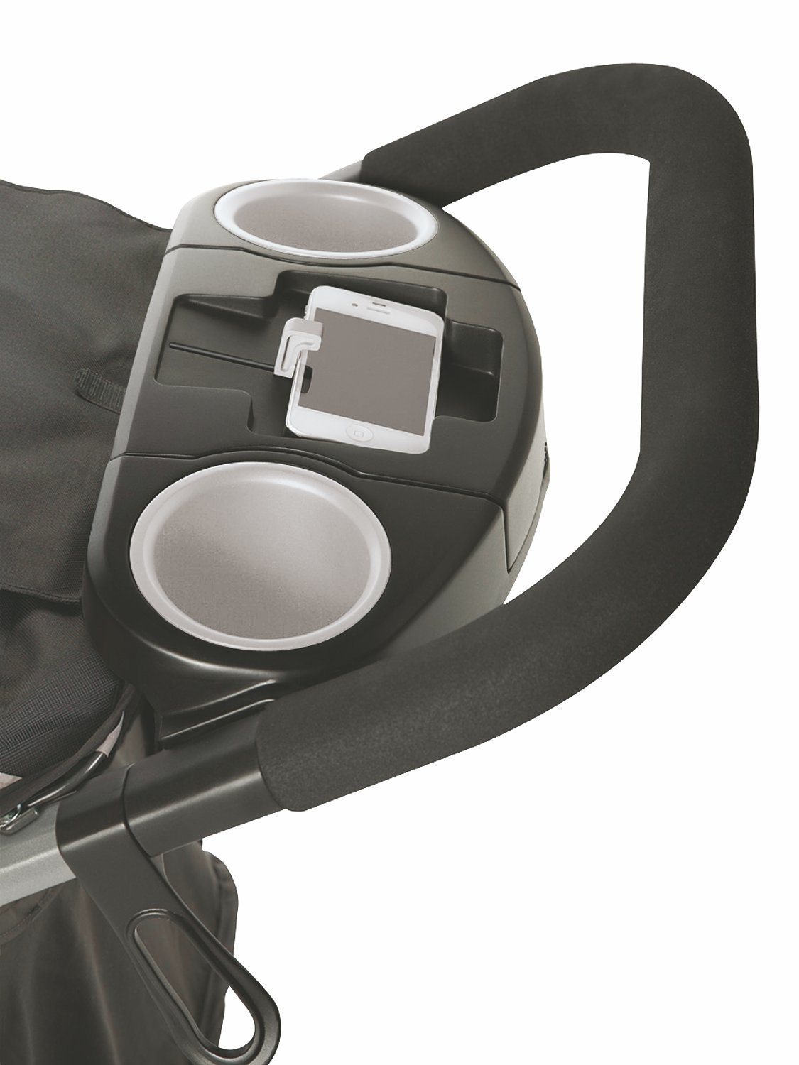 Graco Fastaction Fold Jogger Click Connect Stroller, Gotham by Graco (Image #5)