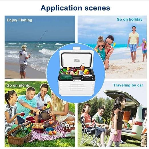 Amazon.es: sgtrehyc portátil Mini Auto frigorífico 12 V Mute ...