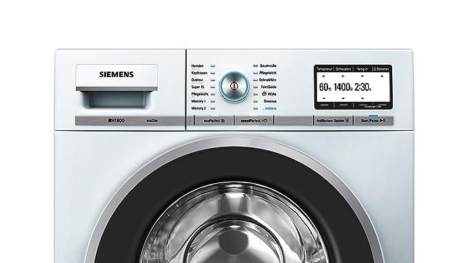 Siemens WM14Y7W2 - Lavadora (Independiente, Color blanco, Frente ...