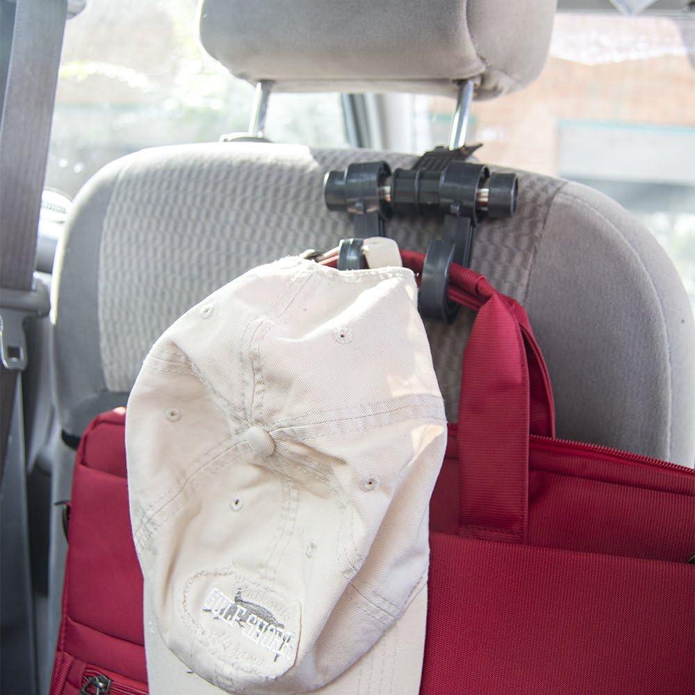 Seat Belt Extender Pros Car Hook Hanger /& Organizer 2