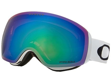 240a762e42092 Image Unavailable. Image not available for. Color  Oakley Flight Deck XM  Prizm Snow Goggles Matte White ...