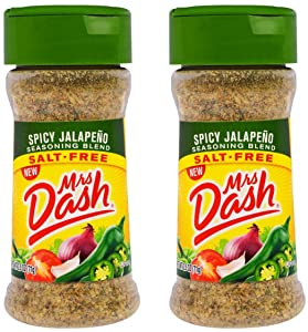 Mrs. Dash Spicy Jalapeño Seasoning Blend 2.5 Oz - Pack of 2