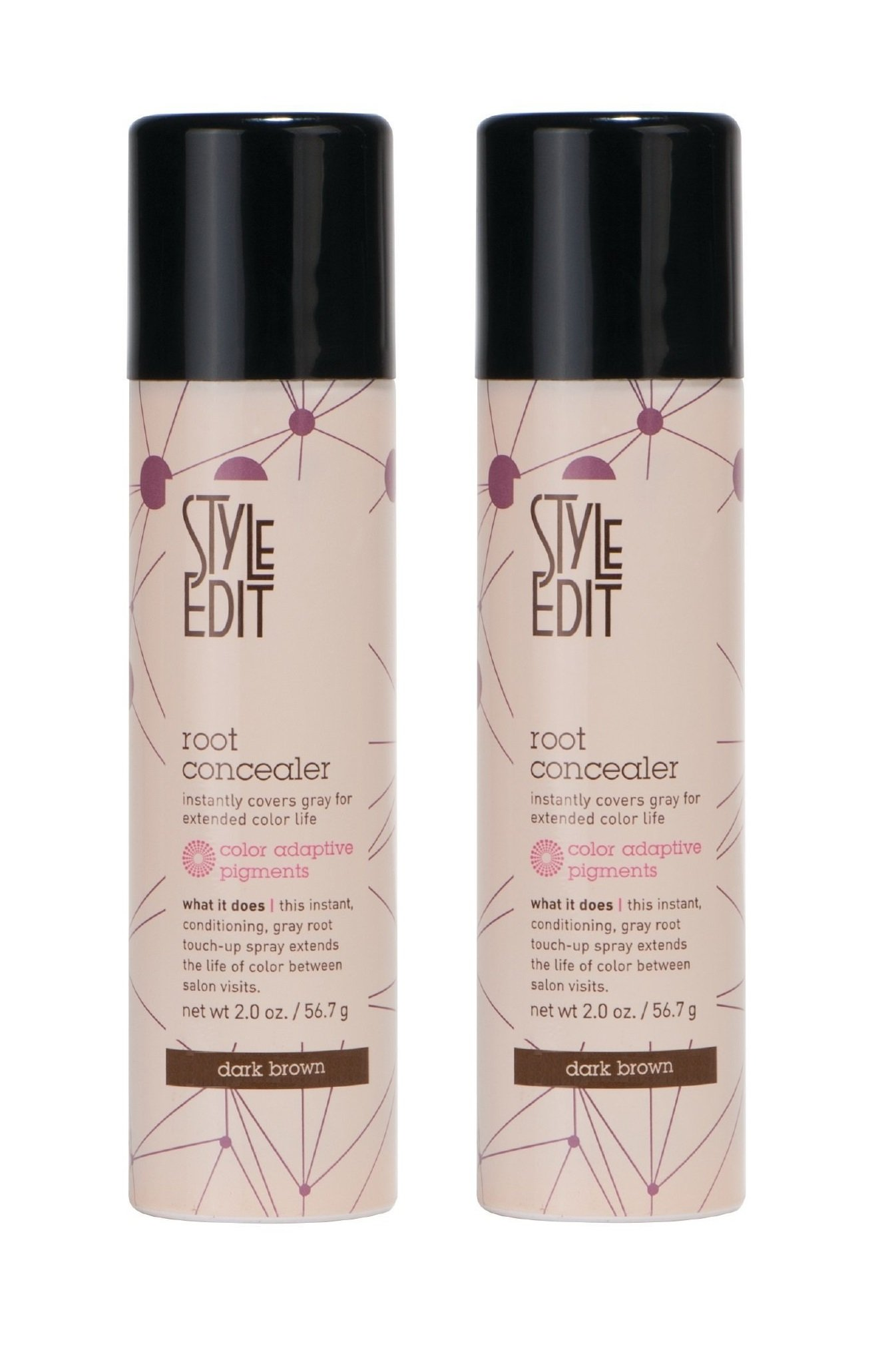 Style Edit Root Concealer Dark Brown (Dark Brown (2 pack))