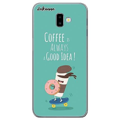 dakanna Funda para Samsung Galaxy J6 Plus | Comida Café y ...