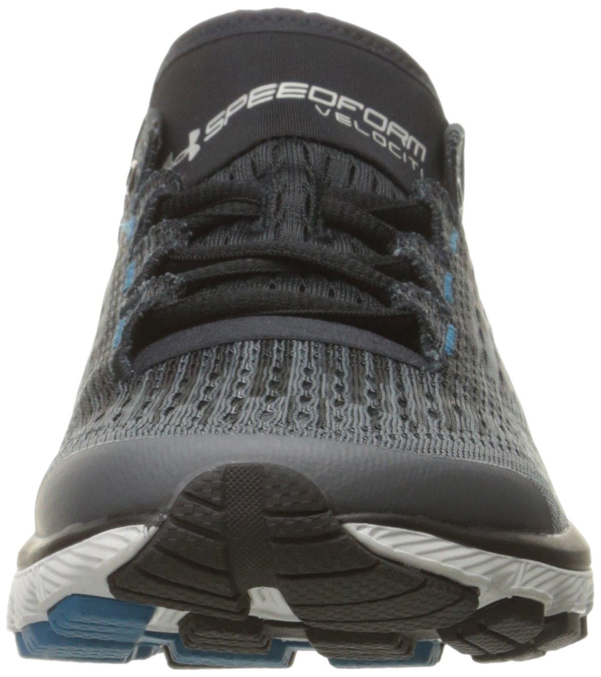 Under Armour Women's Speedform Velociti Graphic Running Shoe B01MXXIT53 5 M US|Rhino Gray (100)/Black
