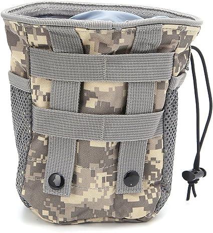 Kalttoy Sac De Poche Utilitaire Ext/érieur Airsoft Militaire Molle Belt Tactical Dump Drop Bag