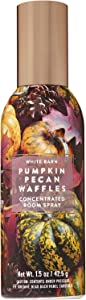 Bath and Body Works Pumpkin Pecan Waffles Concentrated Room Spray 1.5 Ounce (2019 Edition, White Barn Label)