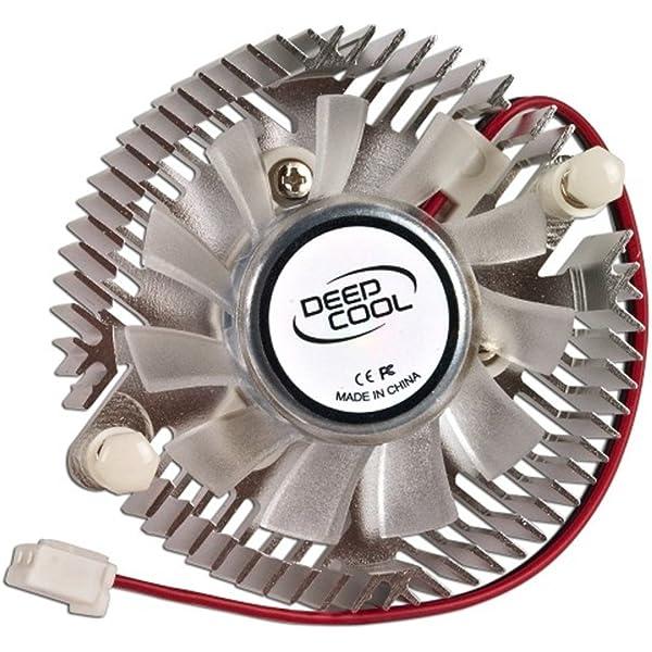 EVERCOOL Mini Universal LED VGA Cooler Blue SKU VC-RI-BL