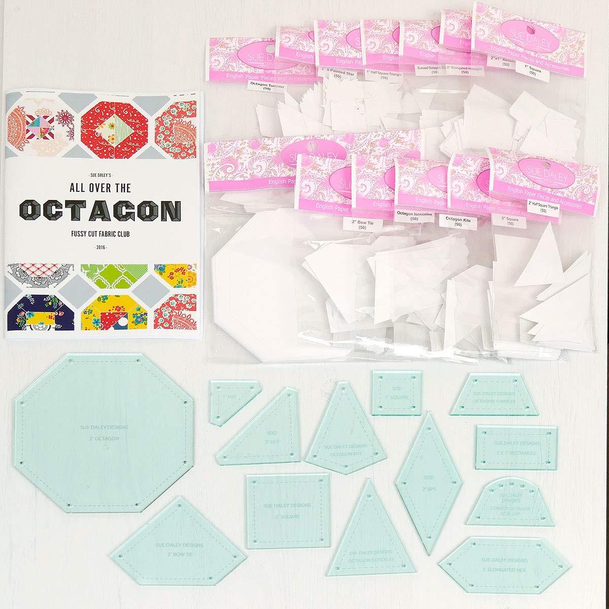 SUE DALEY DESIGNSによる八角形スターターパックのすべて。 B07HY4GVHL