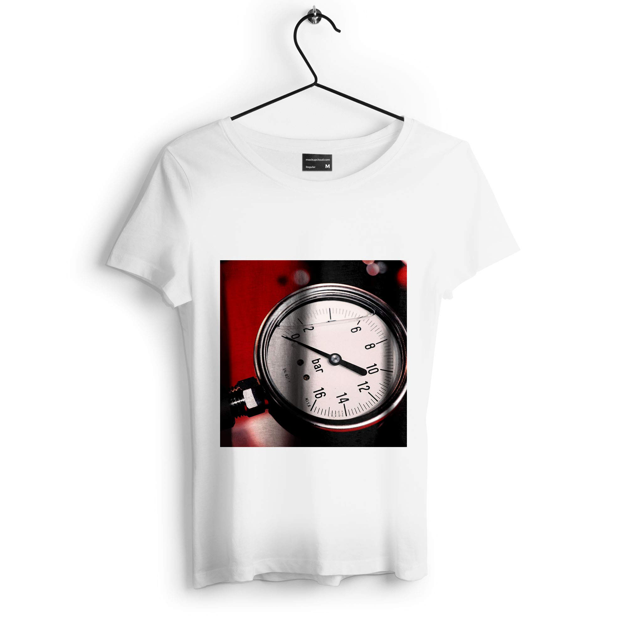 Westlake Art - Watch Clock - Unisex Tshirt - Picture Photography Artwork Shirt - White Adult Medium (D41D8)