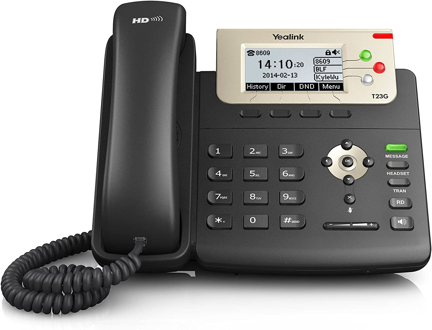 Ooma Office Provisioned Yealink Sip-T23G Phone