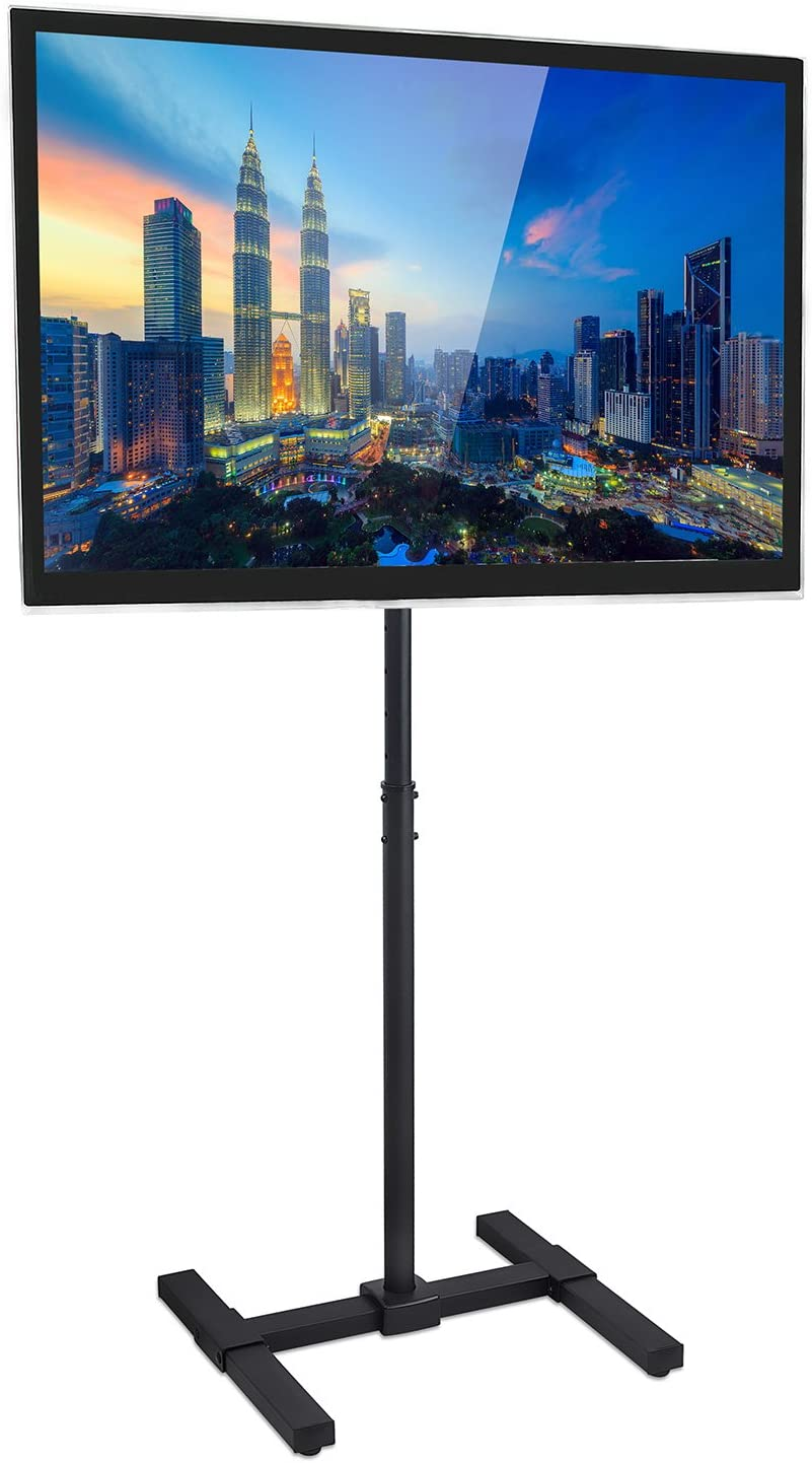 Mount It Tv Floor Stand For Flat Curved Lcd Led Amazon Co Uk Electronics