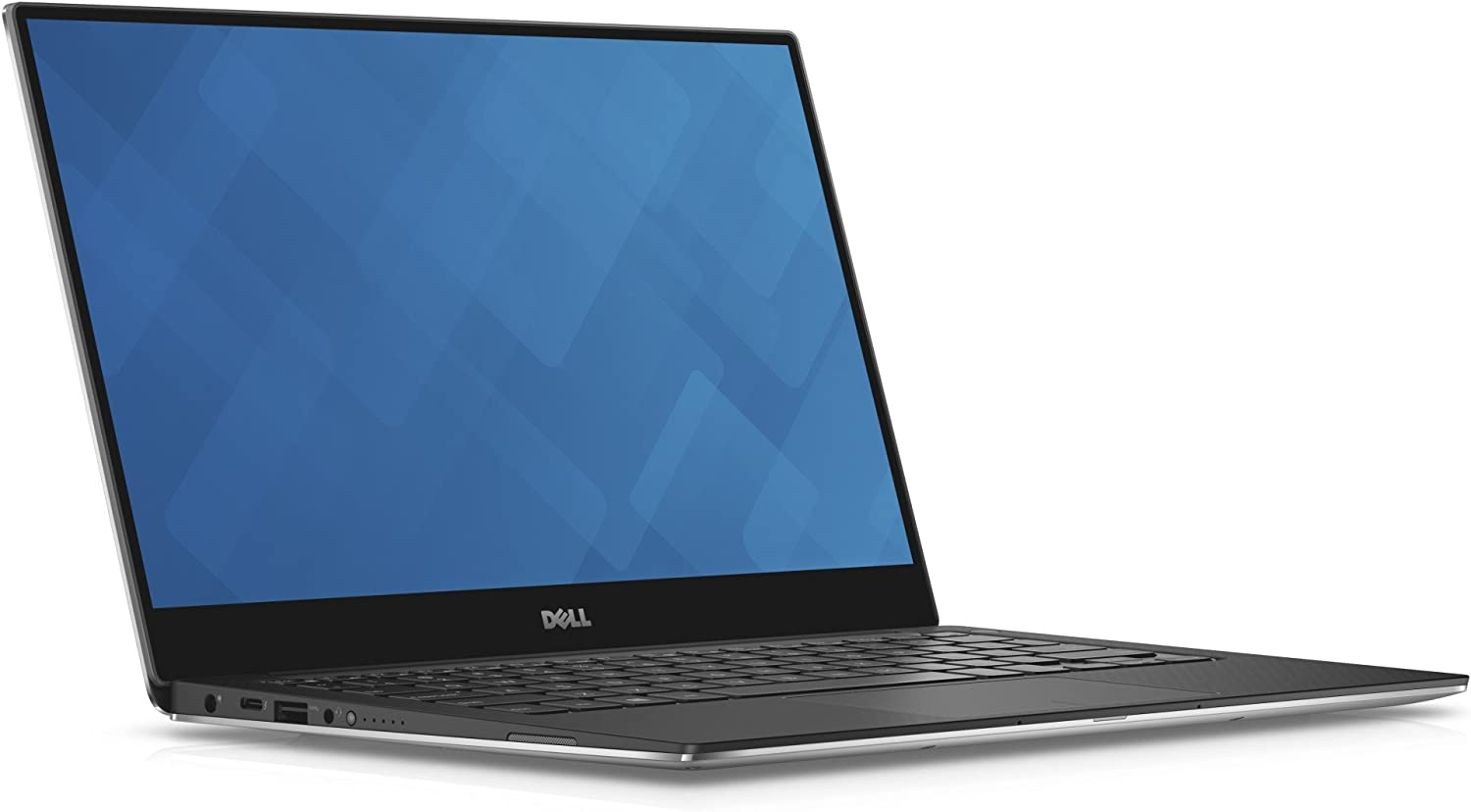 "Dell XPS 13 9360 13.3"" Laptop QHD+ Touchscreen 7th Gen Intel Core i7-7500U, 16GB RAM, 512GB NVME SSD Machined Aluminum Display Silver Win 10 (Renewed)"