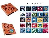 Hoopz 3-Ring Binder - Textured Basketball Binder